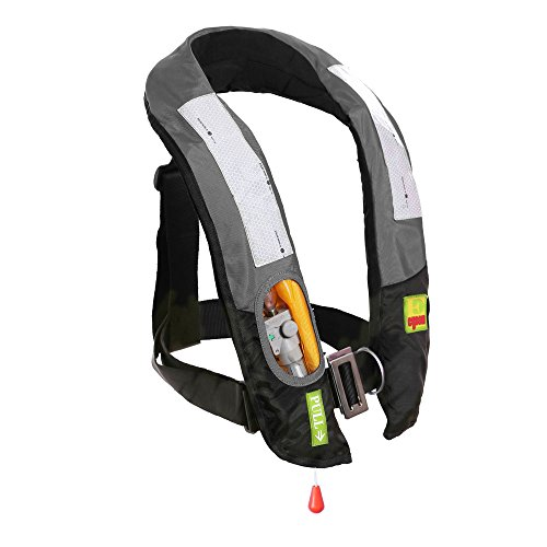 Eyson Inflatable Life Jacket Life Vest Highly Visible Automatic (Grey) price