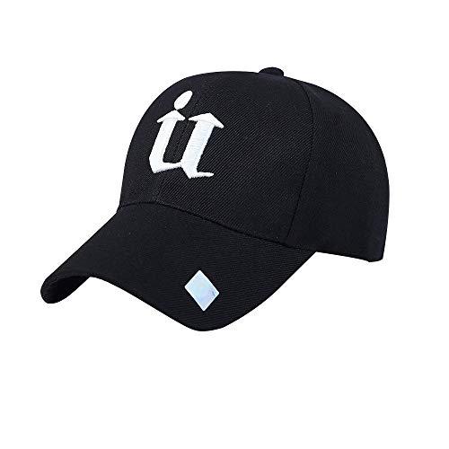 (Weiliru Washed Distressed Cotton Denim Ponytail Hat Adjustable Baseball Cap)