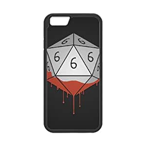 iPhone 6 4.7 Inch Cell Phone Case Black DICING WITH THE DEVIL OJ657354