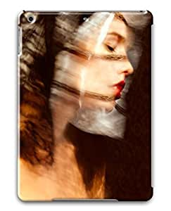 3D PC Case Cover for ipad air Custom Hard Shell Skin for ipad air With Nature Image- Pretty Woman