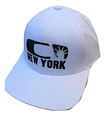 Oakley Men's NYC New York Statue of Liberty O-Flex Fitted Hat Cap - White