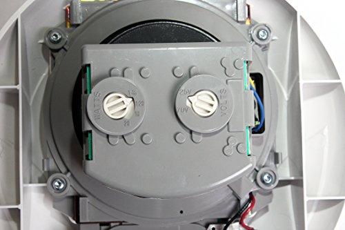 System Sensor SPSCWVA Ceiling Mount Speaker/Strobe White 12/24VDC: Amazon.com: Industrial & Scientific