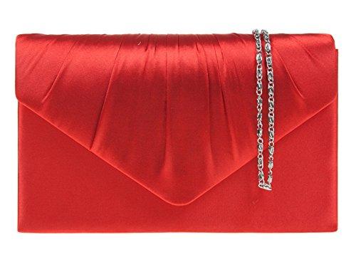fi9® Colores para Colores mano Cartera rojo Varios mujer multicolor de Varios wrqwOPSf