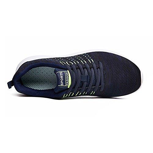 Mesh Bequeme Blau Straßenlaufschuhe Sportschuhe Fitness EU Laufschuhe Herren Freizeit 45 Turnschuhe A Sneakers BAINASIQI Bw7Egq