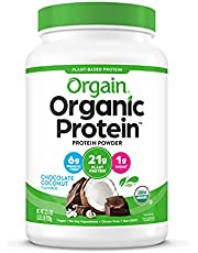 Orgain Organic Plant Based Protein Powder, Creamy Chocolate Fudge -