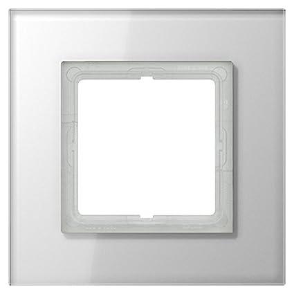 Jung LSP981GLWW - Marco embellecedor simple ls plus blanco alpino: Amazon.es: Bricolaje y herramientas