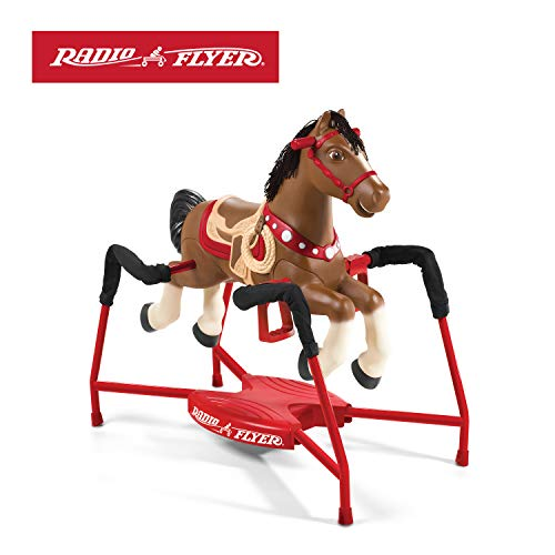 Radio Flyer Blaze Interactive Riding Horse (Accessories Rocking Horse)