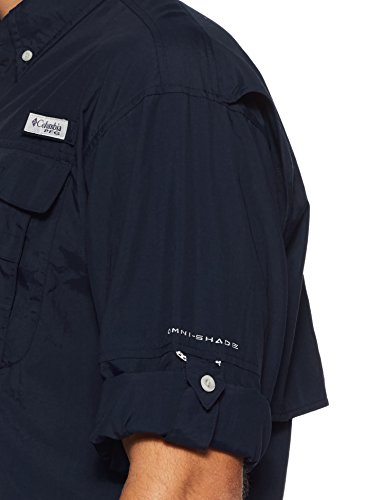 Columbia Sportswear hombres de Bahama II de manga larga azul marino
