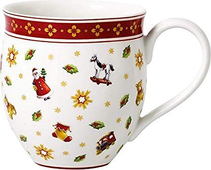 Villeroy & Boch Vaso, Porcelana, Weiß/Rot, Jarra Set 2pzs, Toys