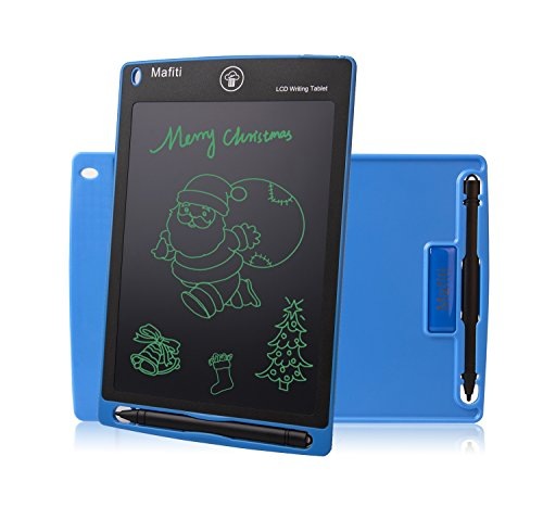 Doodle Pad LCD Writing Tablet - Mafiti8.5 Inch Electronic Graphic Drawing BoardPortable eWriter gifts for Kids Home Message Office Memo Whiteboard Blue