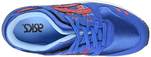 Asics Gel-Lyte III GS, Baskets Basses Mixte enfant Bleu (classic Blue/classic Red 4223)