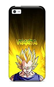 1259047K15448392 Fashion Tpu Case For Iphone 5c- Vegeta Defender Case Cover