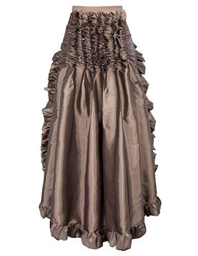 Vintage Rtro Caf Plisse Anne pour Bal 50 Femme Poque Le Belle Jupe Rockabilly Fpxw5wBq