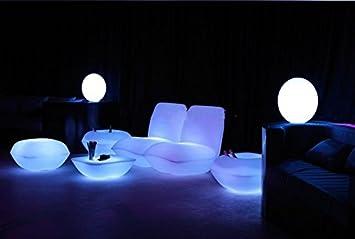 GOWE impermeable Vondom | almohada silla de salón LED luminoso muebles sofá para decorar el salón, piscina, jardín, Bar, terraza, etc.