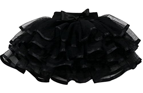 (Tortoise & Rabbit Little Girls and Big Girls Tulle Tutu Skirt (M(5),)