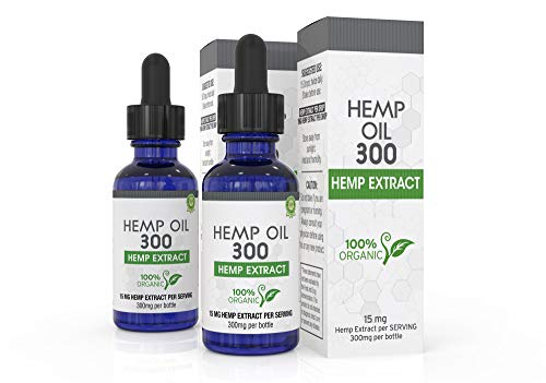 Hemp Oil for Pain, Anxiety & Stress Relief - 600mg  - 100% O