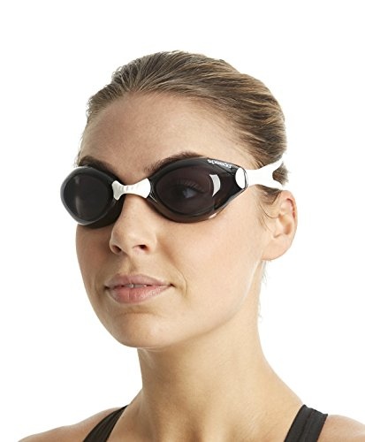 Speedo Aquapulse Gog Au Lunettes de natation White Smoke