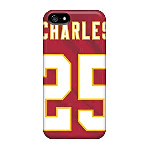 SherriFakhry Iphone 5/5s Perfect Hard Cell-phone Case Provide Private Custom Stylish Kansas City Chiefs Skin [SZt8008zTOO]