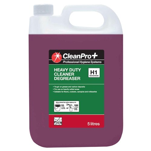 Clean Pro+ Heavy Duty Cleaner Degreaser H1 5 Litres