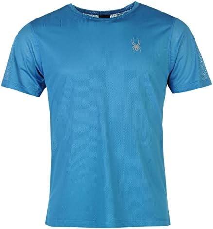 SPYDER Alpine - Camiseta para Hombre Azul Plata Talla L Azul: Amazon.es: Deportes y aire libre