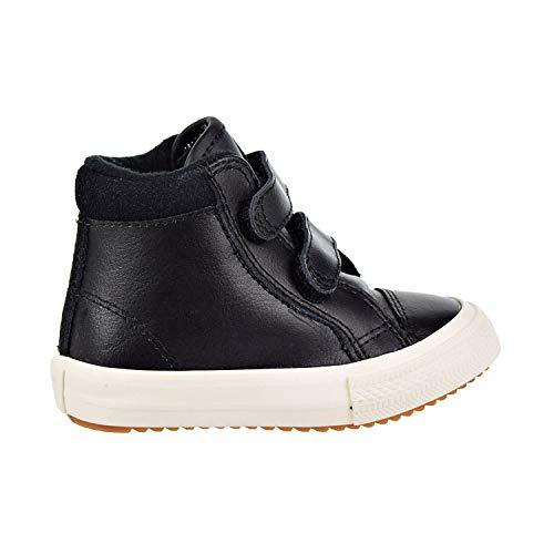Converse Girls' Chuck Taylor All Star 2V High Top Boot Sneaker, Burnt Caramel/Black, 5 M US Toddler]()
