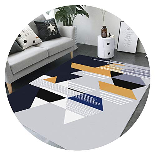 Modern Minimalist Nordic Style Big Area Carpets for Living Room Restaurant Bedroom mats/Rugs Child Game Crawl Large Size Carpet,A,120cmx160cm -