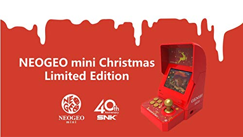 NEOGEO mini Christmas Limited Edition *(IN STOCK NOW! Ships USPS Priority Mail)*