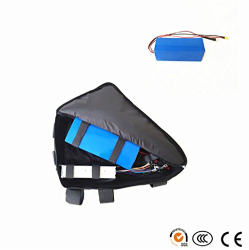 1500w motor 48v 13.2ah Samsung cell 22p electric bike triangle bag lithium battery for 1500w ebike by NBPower (Image #2)