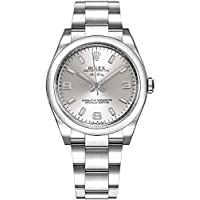 """Rolex Oyster Perpetual""""Air King"""" Silver Dial 34mm Watch (Ref 114200-SLVSASO)"""