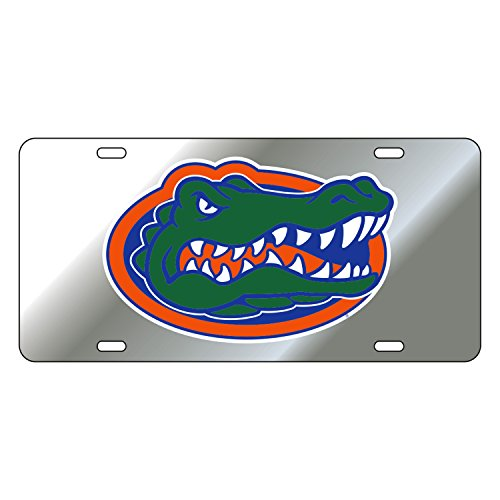 Craftique Florida Gators Tag SILVER/REF GATOR HEAD TAG (Silver Gator Head)