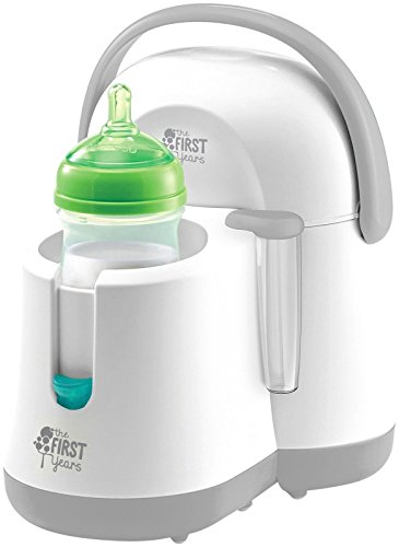 Tomy The First Years Nursery Bottle Warmer, White