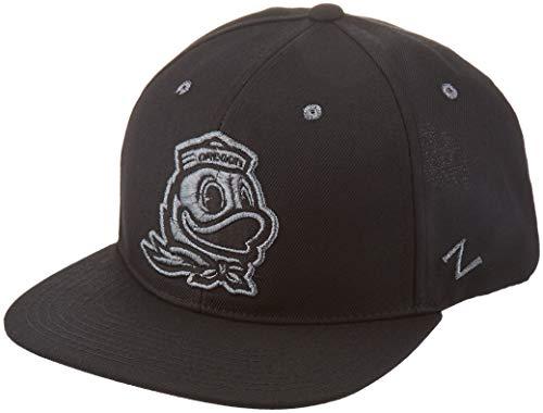 Zephyr Men's Z11 Ebony Snapback Cap, Black, Adjustable