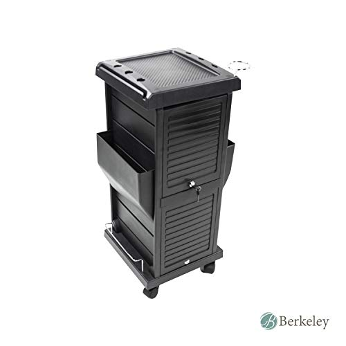 BERKELEY CLAIRE Salon Trolley - Lockable