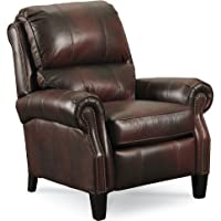 Lane Hogan All Leather Low Leg Recliner. 2671-88/89-22..