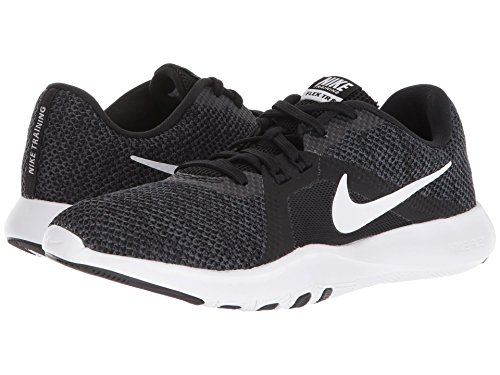 8 W Trainer Flex Black Fitness White White Shoes Nike Anthracite Women's 5CqwII