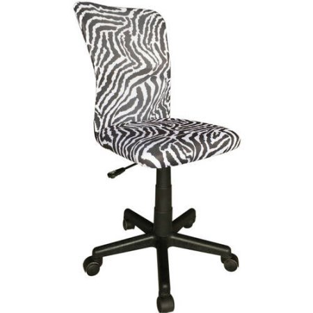 Mainstays Mesh Printed High-Back Chair Pattern : Zebra (Mesh Zebra)