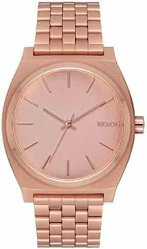 Nixon Time Teller All Rose Gold Women's Watch (37mm. All Rose Gold Face & Rose Gold Metal Band)