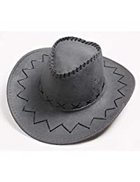 Knight's Hat Western Cowboy Hat Fur Hat Jazz Cap Casual Punching Sun hat Summer Hats Sun hat Sun Protection