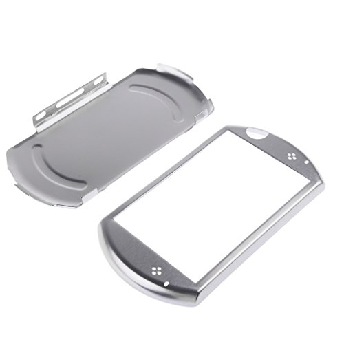 MonkeyJack Shockproof Aluminum Metal Case Cover for Sony PlayStation PSP GO Console Controller Silver