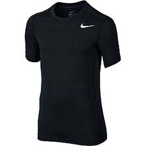 Nike Boys Black Training Swoosh T-Shirt