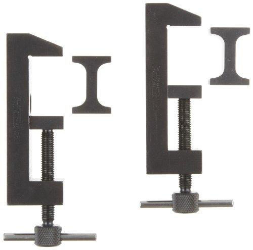 Starrett 160 Toolmakers' Steel Clamp (Pair), 2'' Capacity by Starrett