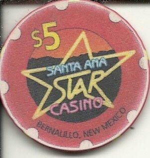 - $5 santa ana star casino chip bernalillo new mexico