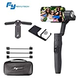 Feiyu Vimble 2 Extendable Handheld 3-Axis Gimbal Stabilizer Compatible for iPhone Smartphone and Gopro with GoPro Adapter if Applicable