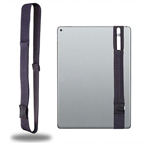 Price comparison product image for Apple Pencil ,Sling Holder Storage Strap with USB Adapter pocket (DrakGrey)