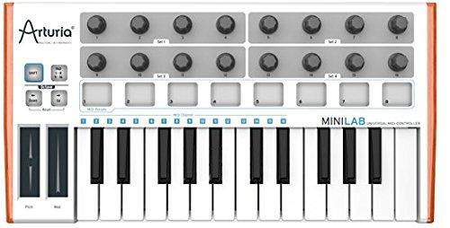 ARTURIA MINILAB MIDIミニキーボード B00CE14X6U