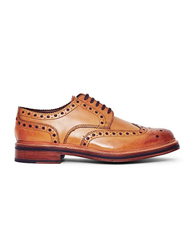 Tan Sole Mens Leather Grenson Archie xIXaYqXE