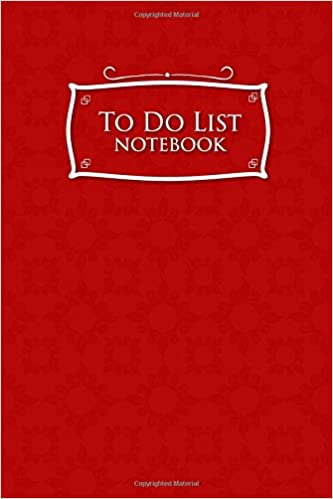 amazon to do list notebook daily task notebook to do list