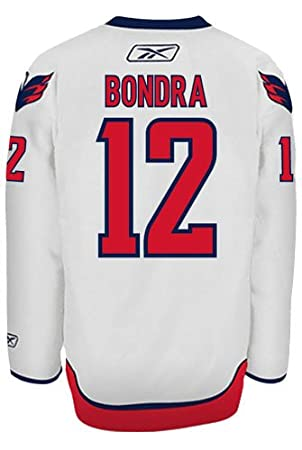 dba3549e7af Peter Bondra Washington Capitals Reebok Premier Away Jersey NHL Replica   Amazon.co.uk  Sports   Outdoors
