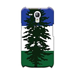 LeoSwiech Samsung Galaxy S3 Mini Scratch Protection Phone Cases Allow Personal Design Stylish Cascadia Flag (us Canada) Pattern [BzT9580egPu]