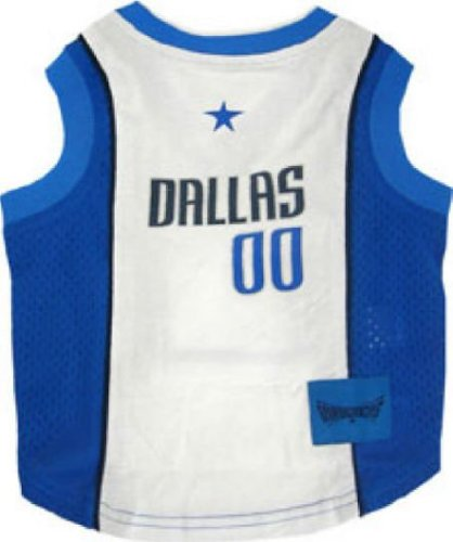 Dallas Mavericks Dog Jersey Small